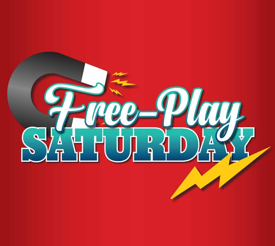 Free Play Saturdays