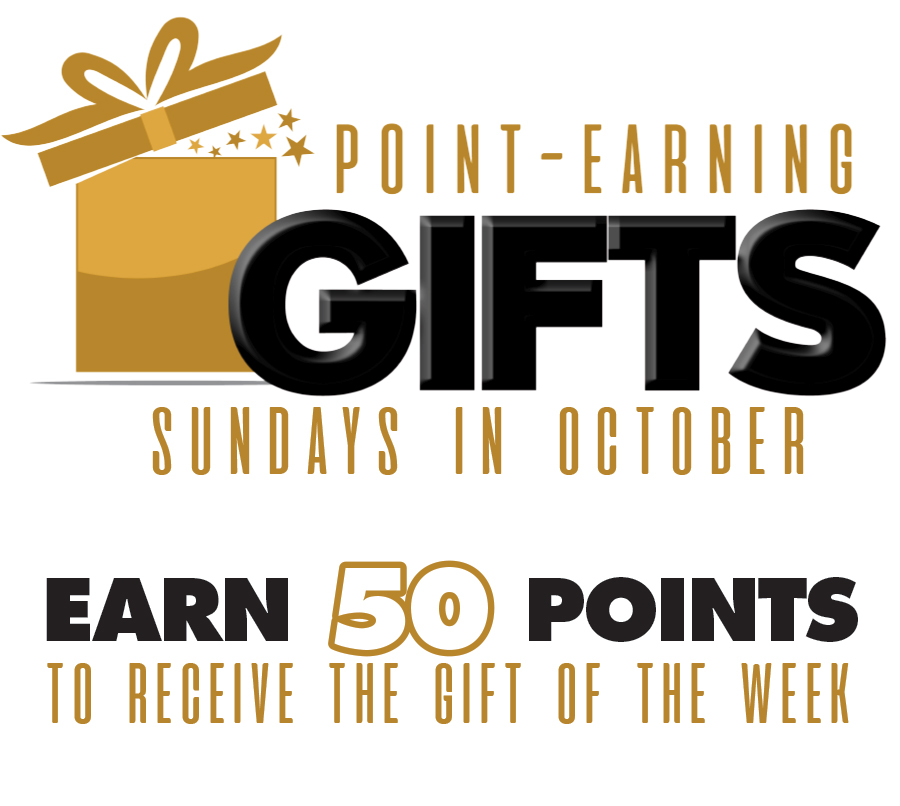 Point Earning Gift – Sundays